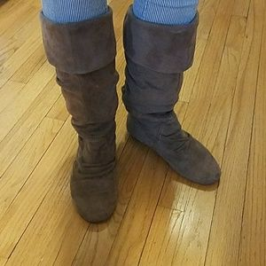 Comfy Slouch Boots